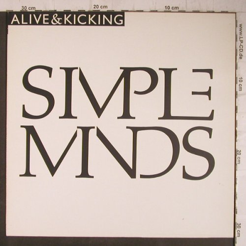 Simple Minds: Alive & Kicking 5:27/ instrum., Virgin(602 038-213), D, 1985 - 12inch - C5123 - 3,00 Euro