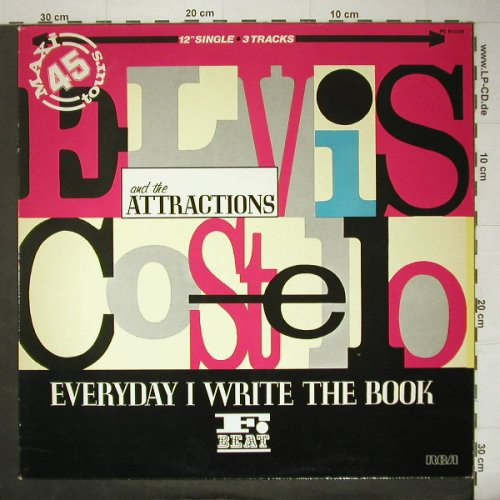 Costello,Elvis & Attractions: Everyday I Write The Book *1+2, RCA(PC 61238), F,  - 12inch - C5189 - 3,00 Euro