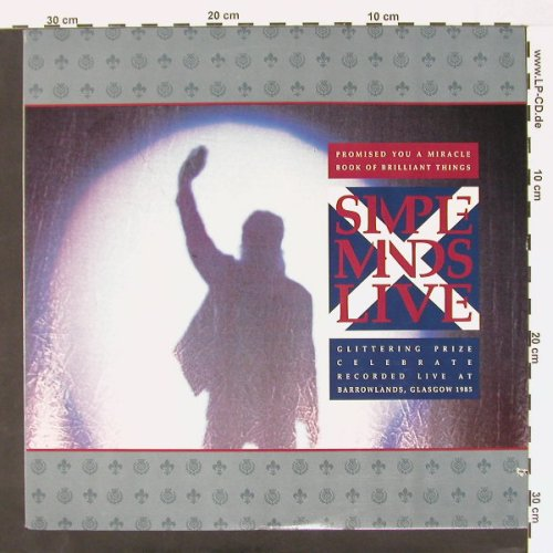 Simple Minds: Promised you a Miracle+3, co, Virgin(SP-12244), US, 87 - 12inch - C536 - 4,00 Euro