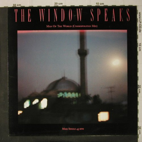 Window Speaks,The: Man Of The World*2+1, CBS(650738 6), NL, 1987 - 12inch - C7891 - 3,00 Euro