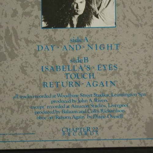 Balaam and the Angels: Day And Night+3, Virgin(607 982-213), D, 1986 - 12inch - C7957 - 3,00 Euro