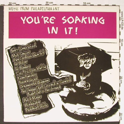 V.A.You're Soaking In It!: Music from Philadelphia & NY, APEX(9), US,m-/vg+, 1988 - LP - C8825 - 5,00 Euro