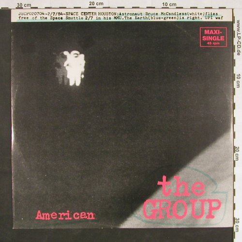 Group,The: American/White Hammer, m-/vg+, Jive(6.20331 AE), D, 1984 - 12inch - C9317 - 2,50 Euro
