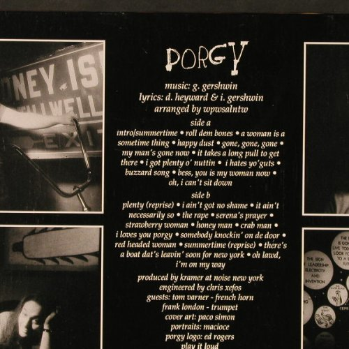 Porgy: When People Were Shorter, Shimmy Disc Europe(044), ,  - LP - C9576 - 6,00 Euro