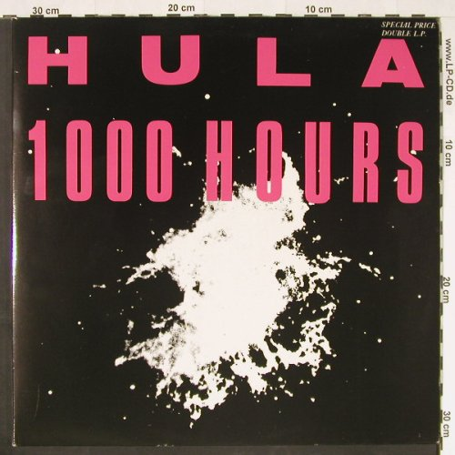 HULA: 1000 Hours, Foc, Red Rhino(RED LP 63), UK, 1986 - 2LP - E266 - 9,00 Euro