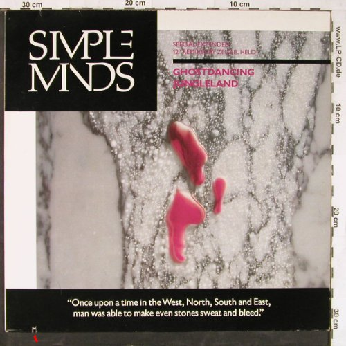 Simple Minds: Ghostdancing*2+2, Virgin(608 633-213), D, co, 1986 - 12inch - E4056 - 4,00 Euro