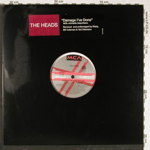Heads,The: Damage I've Done,FLC, m-/vg+, MCA(12 55229), US, 1996 - 12inch - E4098 - 3,00 Euro