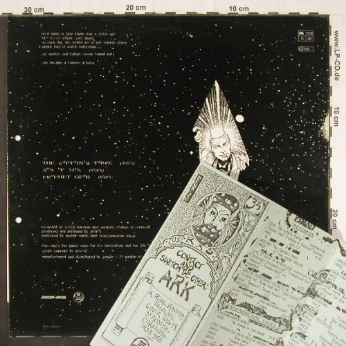 Webcore: The Captain's Table+2, MELT Music(JUNK 30T/ARK 23), UK, 1987 - 12inch - E442 - 3,00 Euro