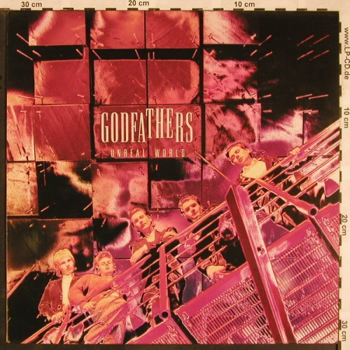 Godfathers: Unreal World, Epic(466952 1), NL, 1991 - LP - E5242 - 5,00 Euro