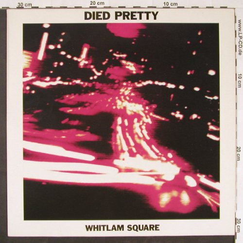 Died Pretty: Whitlam Square+2, BBQ(BEG 238 T), UK, 1990 - 12inch - E792 - 2,50 Euro