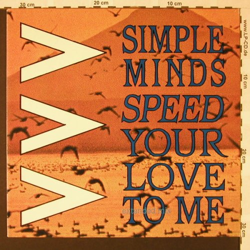 Simple Minds: Speed Your Love To Me*2+1, Virgin(601 159-213), D, 1983 - 12inch - E7970 - 3,00 Euro