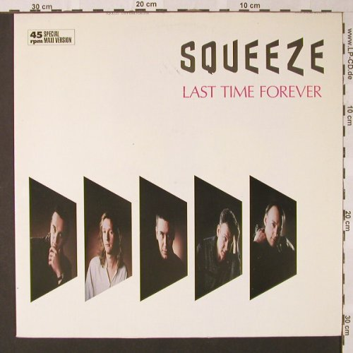 Squeeze: Last Time Forever+1, AM(392 021-1), D, 1985 - 12inch - E8631 - 2,50 Euro