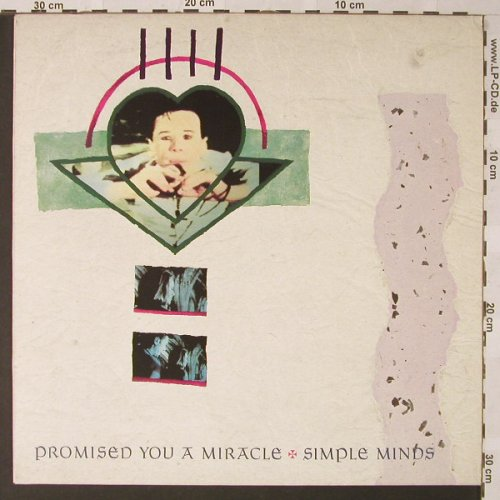 Simple Minds: Promised You A Miracle+2, Virgin(860 268-975), UK, 1982 - 12inch - E9489 - 4,00 Euro
