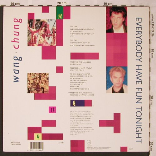 Wang Chung: Everybody Have Fun Tonight*2+2, Geffen(920 551-0), D, 1986 - 12inch - F1395 - 2,50 Euro