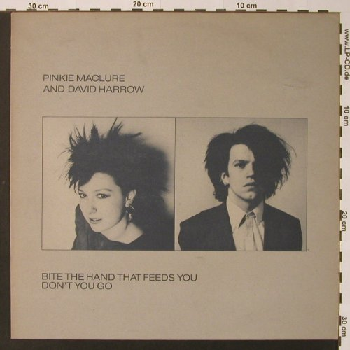 MacLure,Pinkie & David Harrow: Bite The Hands That Feed you+1, INK(1210), , 1985 - 12inch - F2580 - 4,00 Euro