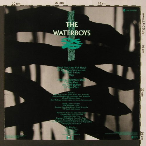 Waterboys: A Pagan Place, Ensign(206 353-320), D, 1984 - LP - F3450 - 5,00 Euro