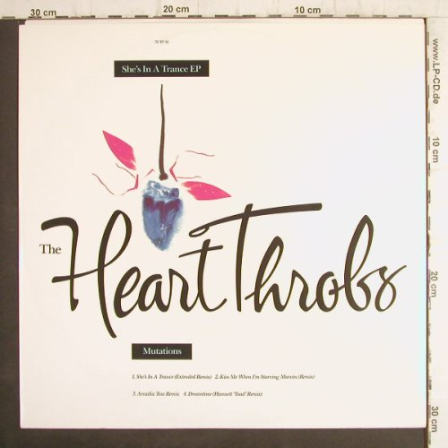 Heart Throbs: She's in a Trance EP, 4Tr., One Little Indian(70TP12), UK, 1992 - 12inch - F8817 - 5,00 Euro