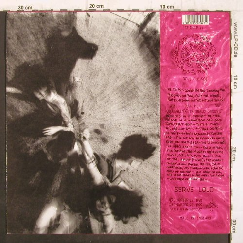 Ned's Atomic Dustbin: The Ingredients EP, vg+/vg+, Chapter 22(12 CHAP 47), UK, 1990 - 12inch - F8870 - 3,00 Euro