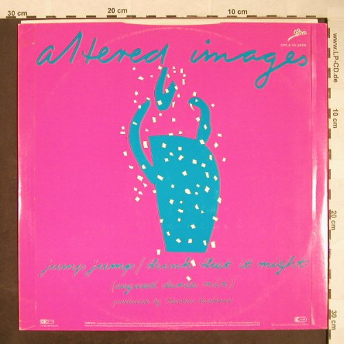 Altered Images: Pinky Blue, dance mix +2, Epic(EPC A 13-2426), UK, 1982 - 12inch - F9943 - 4,00 Euro