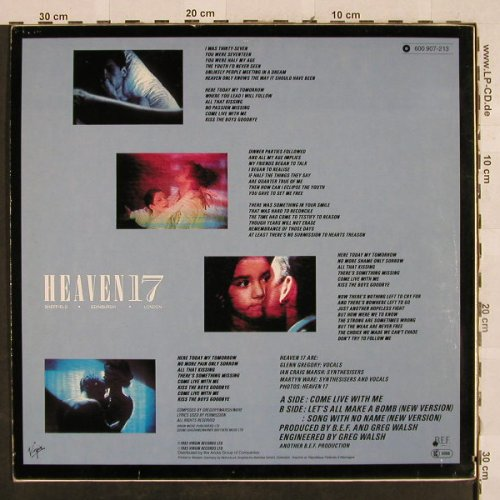 Heaven 17: Come Live With Me +2, Virgin(600 907-213), D, co, 1983 - 12inch - H2807 - 2,50 Euro