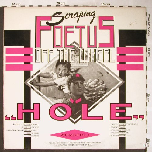 Scraping Foetus Off The Wheel: Hole, m-/vg+, Some Bizar(WOMB FDL 3), UK, 1984 - LP - H6118 - 25,00 Euro