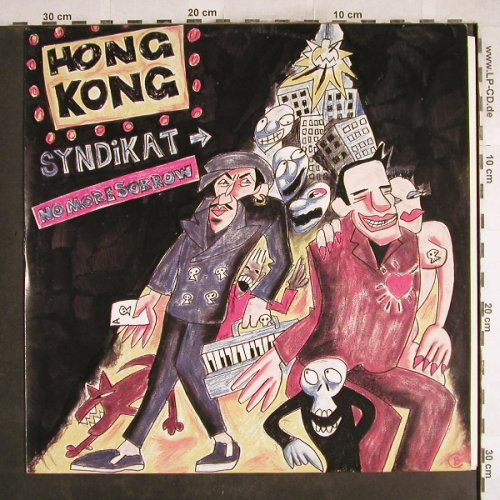 Hong Kong Syndicate: No More Sorrow*2+1, Teldec(6.20797 AE), D, 1987 - 12inch - H7514 - 3,00 Euro