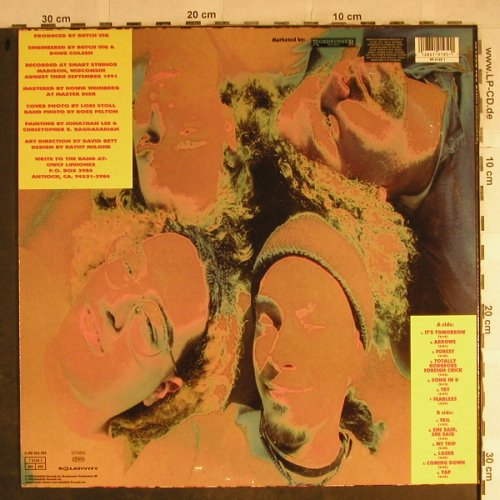 Overwhelming Colorfast: Same, Relativity(RR 9195 1), NL, 1992 - LP - H8789 - 10,00 Euro