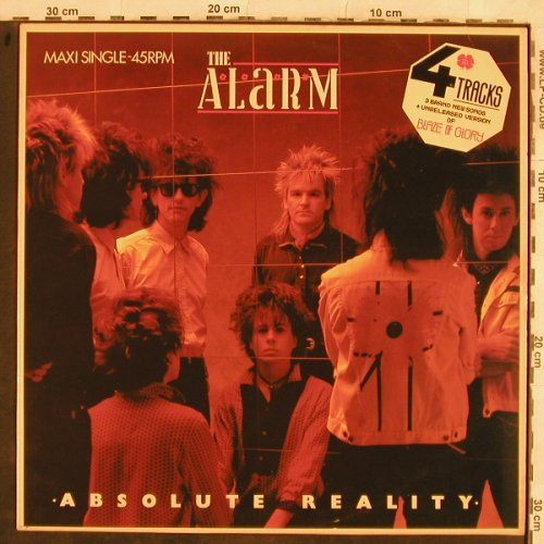 Alarm: Absolute Reality+3, IRS(A 12.6084), NL, 1985 - 12inch - H9978 - 2,50 Euro