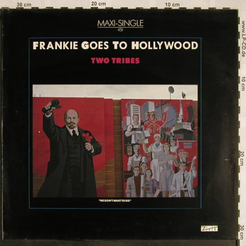 Frankie Goes To Hollywood: Two Tribes*2+2, ZTT(601 325-213), D, 1984 - 12inch - X1331 - 4,00 Euro