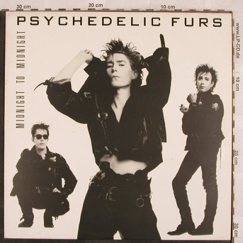 Psychedelic Furs: Midnight To Midnight, CBS(450 2561), NL, 1986 - LP - X232 - 5,50 Euro