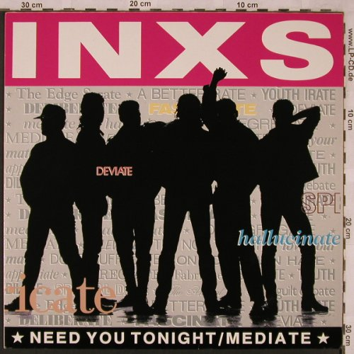 Inxs: Need You Tonight+1/I'm comming Home, Mercury(888 813-1), D, 1987 - 12inch - X2360 - 4,00 Euro
