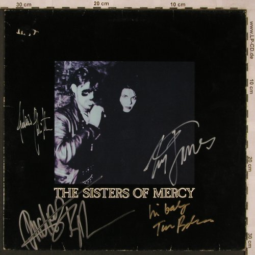 Sisters Of Mercy: Lucretia My Reflection+1,signiert, WEA(247 888-0), D, m-/vg+, 1984 - 12inch - X2406 - 50,00 Euro