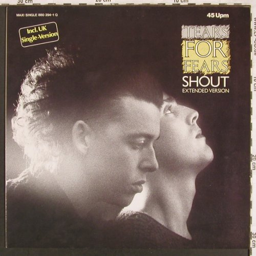 Tears For Fears: Shout*2+1, Mercury(880 294-1 Q), D, 1984 - 12inch - X3327 - 3,00 Euro