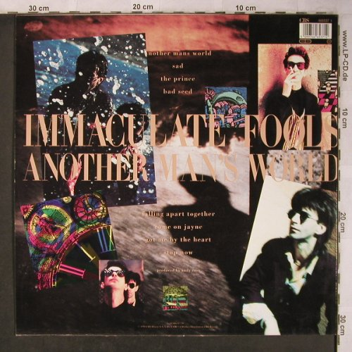 Immaculate Fools: Another Man's World, CBS(466537 1), NL, 1990 - LP - X5134 - 5,50 Euro