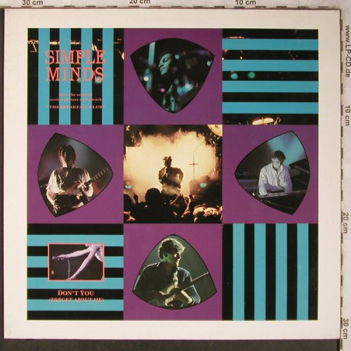 Simple Minds: A Brass Band In Africa Chimes+1, Virgin(601 766-213), D, 1985 - 12inch - X5282 - 4,00 Euro