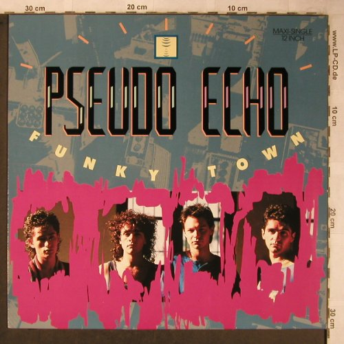 Pseudo Echo: Funky Town x2/Lies are Nothing, RCA(PT 49706), D, 1987 - 12inch - X5421 - 3,00 Euro