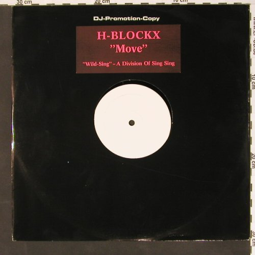 H-Blockx: Move, Promo, LC, SingSing(08 328 13 20), D,  - 12inch - B7996 - 6,00 Euro