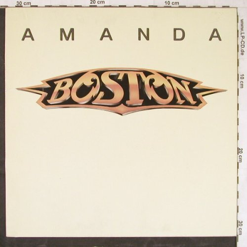 Boston: Amanda+1, MCA(258 554-0), D, 1986 - 12inch - E5028 - 3,00 Euro