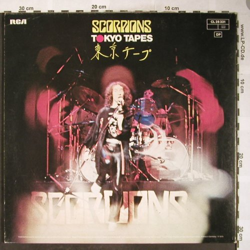 Scorpions: Tokyo Tapes,Foc, vg+/m-, RCA Extra(CL 28 331), D, 1978 - 2LP - H6088 - 6,00 Euro