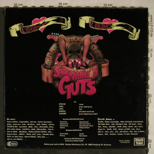Shanghai'd Guts: with Love from St.Pauli, RoughTrade(347.0001.1), D, 1990 - LP - H9614 - 7,50 Euro