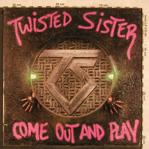 Twisted Sister: Come Out And Play,Gimmix Cover, Atlantic(7 81275-1-E), US, co, 1985 - LPgx - H9888 - 9,00 Euro