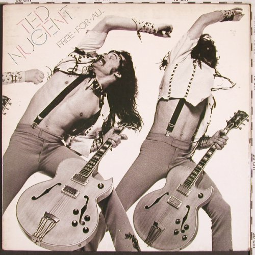 Nugent,Ted: Free For All,Foc, m-/vg+, Epic(EPC 81397), NL, 1976 - LP - X3066 - 5,00 Euro