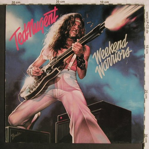 Nugent,Ted: Weekend Warriors, m-/vg+, Epic(EPC 83036), NL, 1978 - LP - X4321 - 6,00 Euro