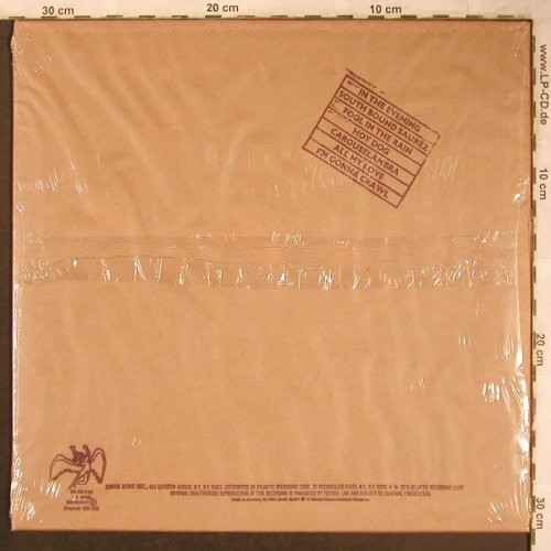 Led Zeppelin: In Through The Out Door, FS-New, SwanSong(SS 59 410), D, 1979 - LP - X4620 - 60,00 Euro