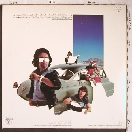 Bad Company: Desolation Angels, Foc, Swan Song(SS 59 408), D, 1979 - LP - X4944 - 7,50 Euro