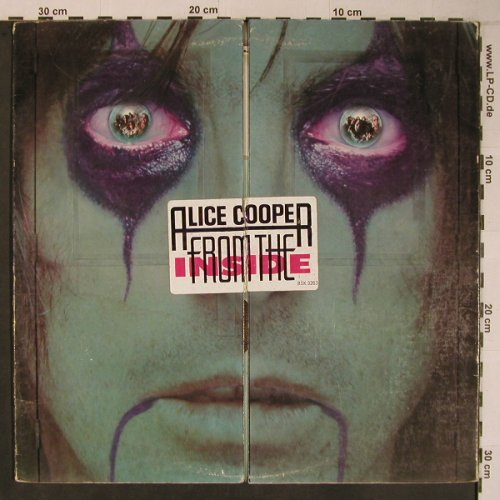 Cooper,Alice: From The Inside, vg+/VG+, Warner(WB 56577U/BSK32), D / US, 1978 - LPgx - X6713 - 10,50 Euro