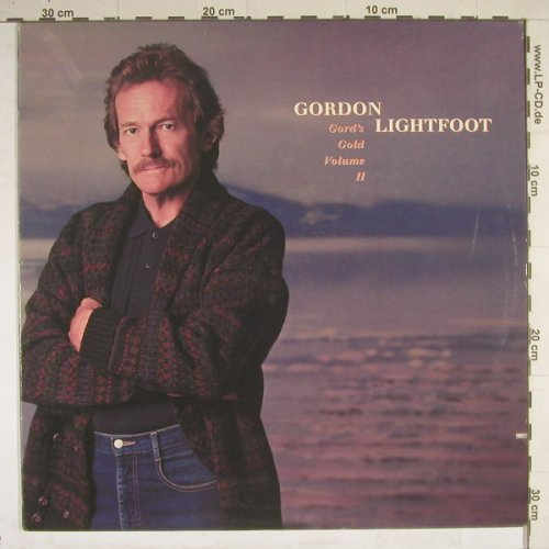 Lightfoot,Gordon: Gord's Gold Volume II, WB(25781-1), US, 1988 - LP - B4284 - 6,00 Euro