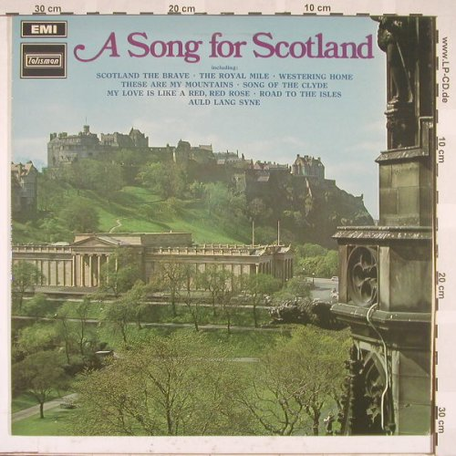 V.A.A Song For Scotland: 12 Tr., EMI-Talism(STAL 5004), UK,  - LP - B5434 - 5,00 Euro