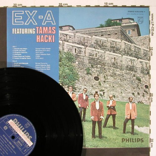 EX-A feat. Tamas Hacki: Same, m-/vg+,Promosticker, Philips(6303 016), NL,  - LP - B8144 - 7,50 Euro