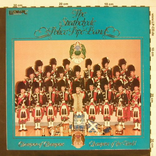 Strathclyde Police Pipe Band, the: Same, Lismore(LILP 5129), UK, 1983 - LP - C1454 - 5,00 Euro